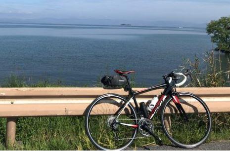 ロードバイクで琵琶湖一周「ビワイチ」に行ってきた体験レポ!のアイキャッチ画像