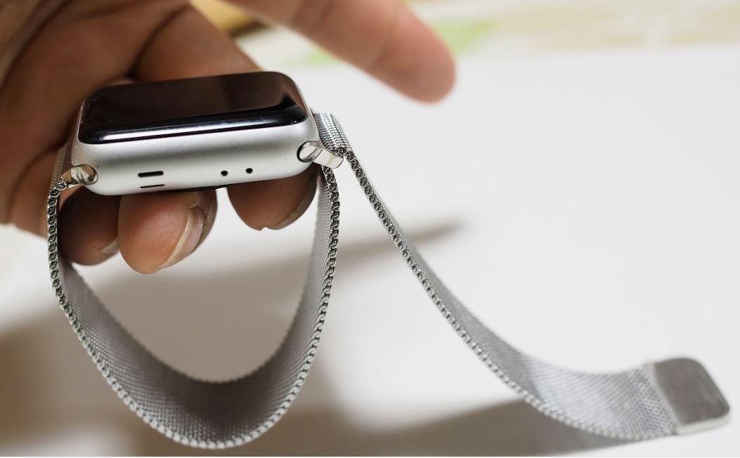 激安でアップウォッチのベルト交換、ミラネーゼループそっくりのアイキャッチ画像