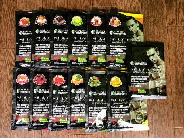 プロテインの味に飽きた、初めて飲む方に!13種類の味パックを購入したのアイキャッチ画像