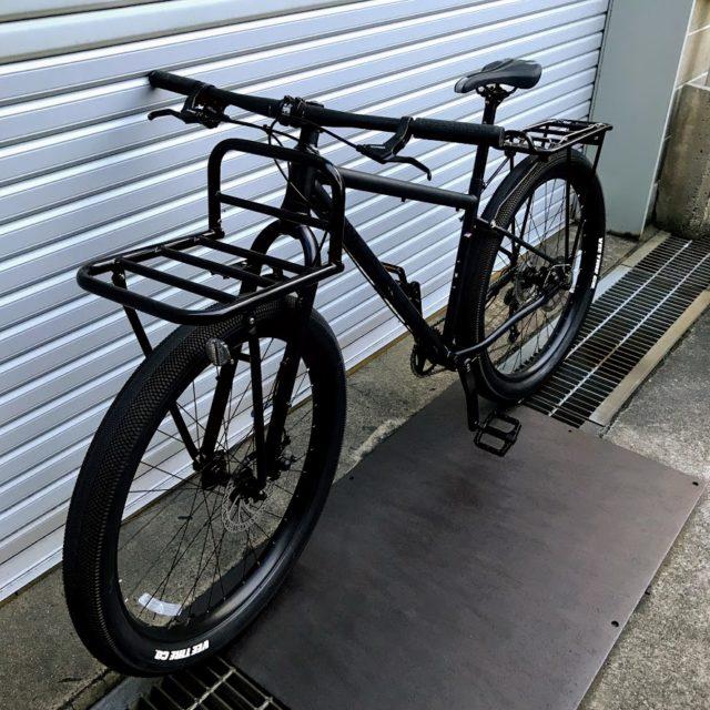 マウンテンバイクに装備した自転車パーツまとめ【通勤、キャンプ、ポタリング】のアイキャッチ画像