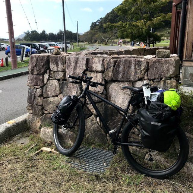 キャンプに行くための自転車